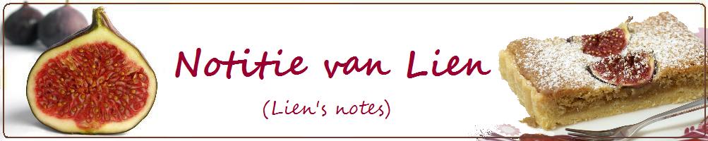 Notitie van Lien